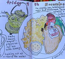 from the food diary: breakfast at Point Walter by Evelyn Bach