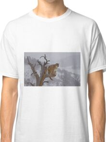 Cougar overlooking domain Classic T-Shirt