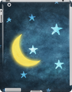 moon and stars by naphotos