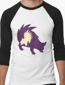 PKMN Silhouette - Stunky Family Men's Baseball ¾ T-Shirt