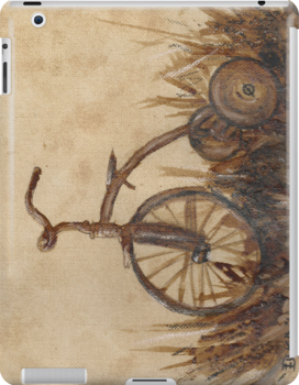The Old Trike iPad case by Dianne  Ilka