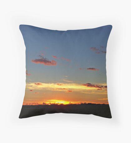 Prairie Starburst Throw Pillow