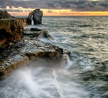 Sunset at the Pulpit by Chris Frost Photography