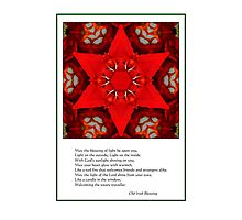 A blessing for you Photographic Print