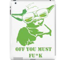 Yoda Swag iPad Case/Skin