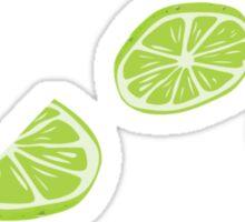 Lime Print Sticker