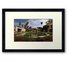 Balboa Park Botannical Building, San Diego Framed Print