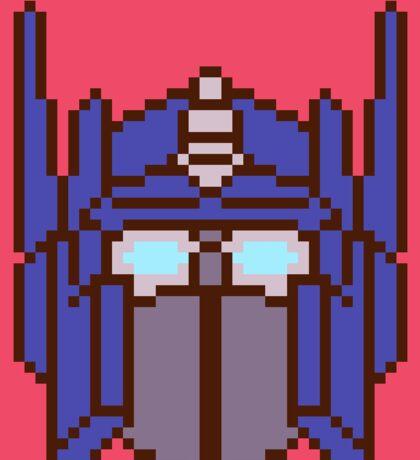Pixel Optimus Sticker