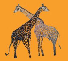 Giraffe Hugs by Christine Rotter