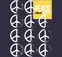STAND UP FOR PEACE. Womens Fitted T-Shirt