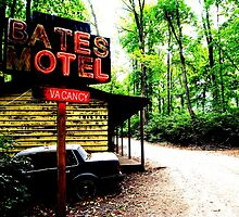 Bates Motel by Hallowaltz