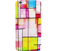 colorful town iPhone Case/Skin