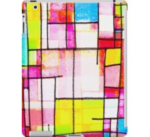 colorful town iPad Case/Skin