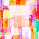 abstract geometric colorful pattern by naphotos