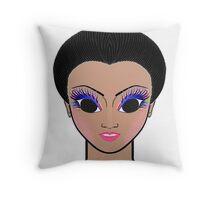 England Girl-3 Throw Pillow