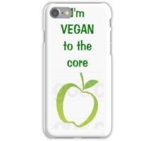 Vegan Apple iPhone Case/Skin