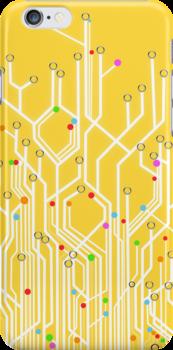 circuit board by naphotos