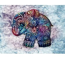 vintage elephant Photographic Print