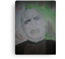 Voldemort Canvas Print