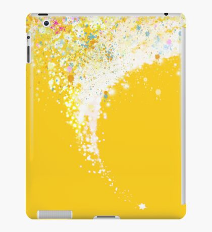 colors splashing iPad Case/Skin