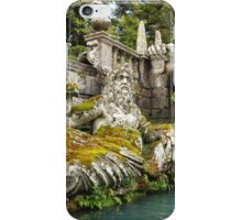 Villa Lante Fountain iPhone Case/Skin