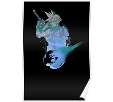 Cloud Strife Meteor (Black) Poster