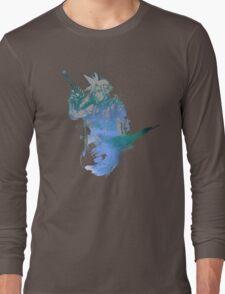 Cloud Strife Meteor (Black) Long Sleeve T-Shirt