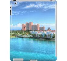 Atlantis and Harbour Village in Paradise Island, The Bahamas   iPad Case iPad Case/Skin