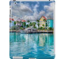 Harbor Village in Paradise Island, The Bahamas   iPad Case iPad Case/Skin