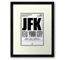 JFK - New York City Framed Print