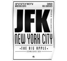JFK - New York City Poster