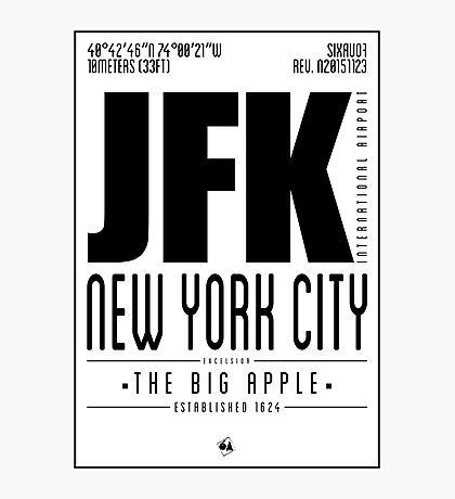 JFK - New York City Photographic Print