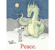 Peace Dragon Photographic Print