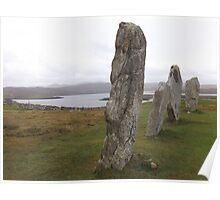 Calanais Stones Poster