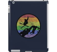 skiing 2 iPad Case/Skin