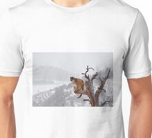 Cougar high in tree Unisex T-Shirt