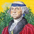 Founding Farmer Marijuana George Washington Legalize Freedom by John-Mike