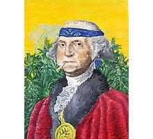 Founding Farmer Marijuana George Washington Legalize Freedom Photographic Print