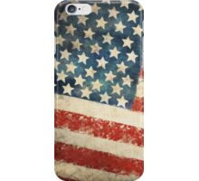America flag iPhone Case/Skin