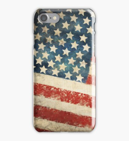 America flag iPhone Case/Skin