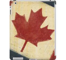 Canada flag iPad Case/Skin