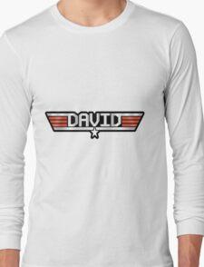 David callsign Long Sleeve T-Shirt