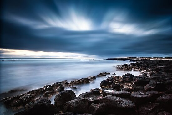 Dramatic Port Fairy Sunset by hangingpixels