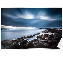Dramatic Port Fairy Sunset Poster