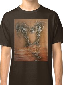 Troubled Heart (Image and Poem) Classic T-Shirt