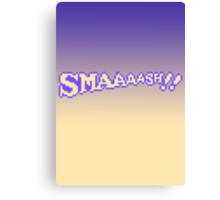 SMAAAASH!! Canvas Print