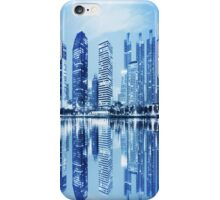 city in twilight iPhone Case/Skin