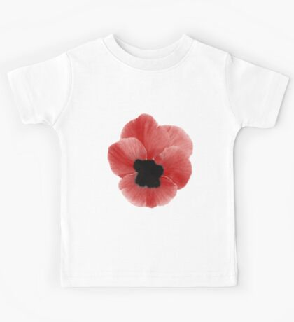 Poppy Print Kids Tee