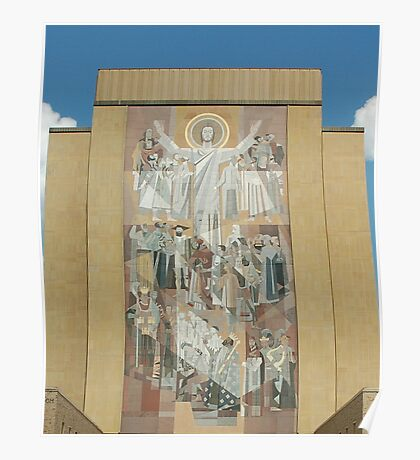 Hesburgh Library-University of Notre Dame Poster