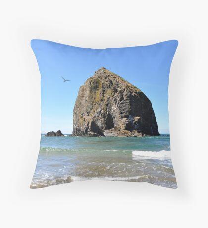 Canon Beach Haystack Throw Pillow